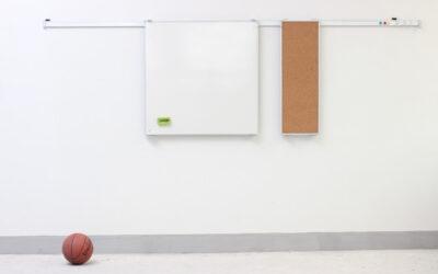 Whiteboard som inventar